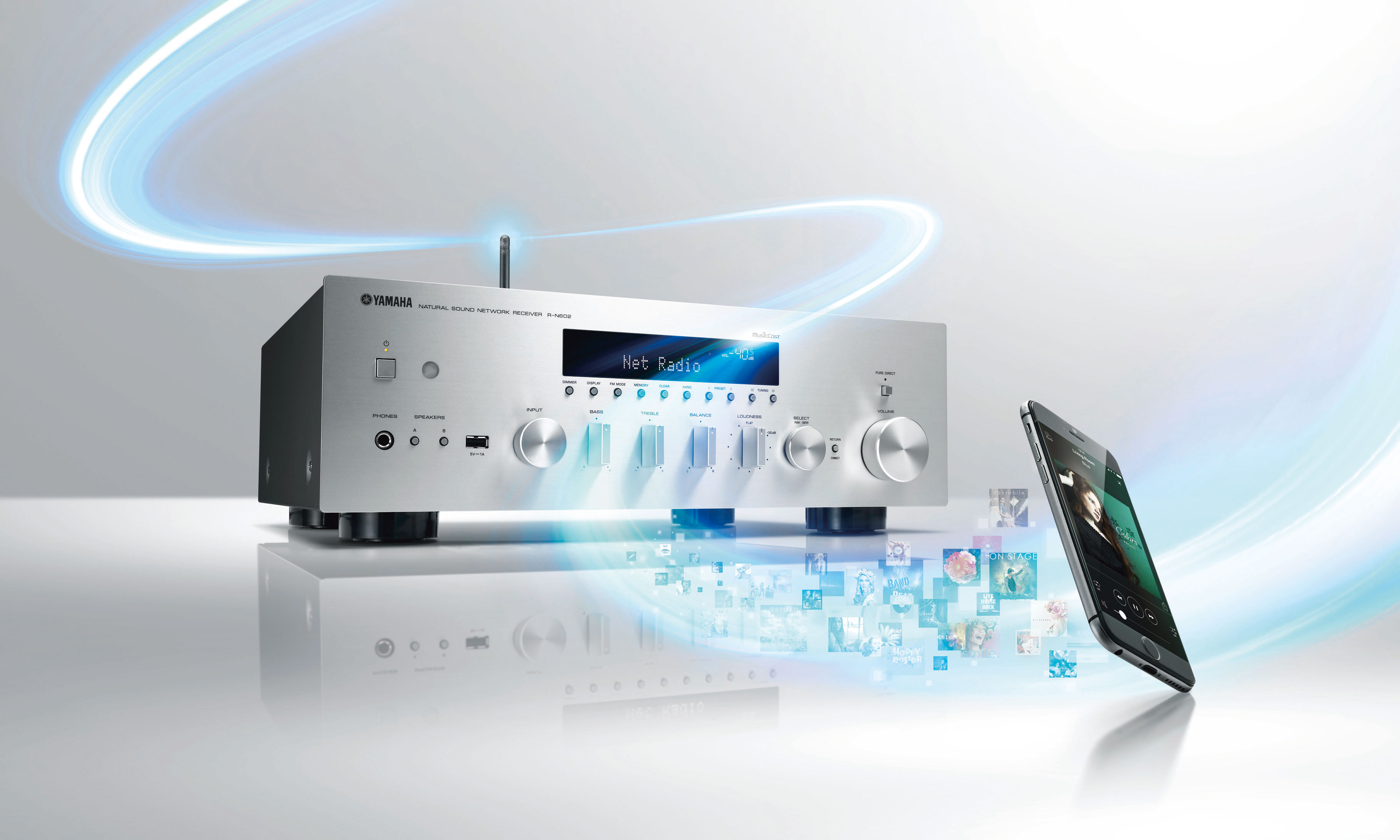 ABSOLUTE HIFI — YAMAHA R-N602 MUSICCAST NETWORK STEREO RECEIVER