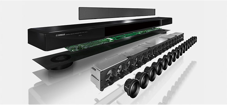 Yamaha Speaker Bar With Subwoofer Yas
