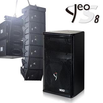 nexo geo s8 versatile line array system speakers