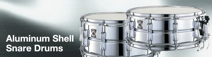 AluminumShellSnareDrums