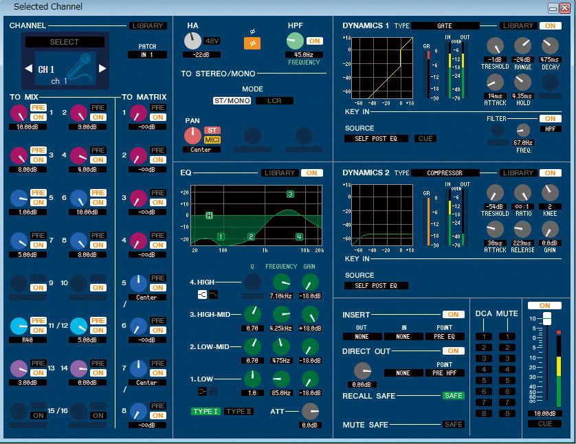 Cl Yamaha Software