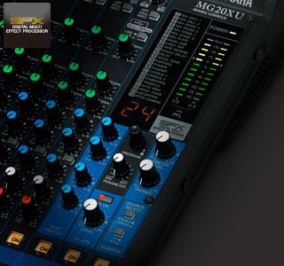 Микшерныйе пульты Yamaha MG 2014 SPX процессор