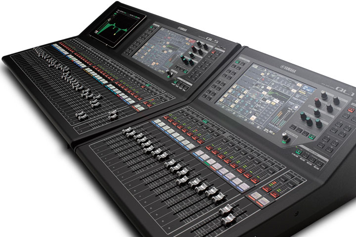 Ql series mixers products yamaha for Yamaha sound console