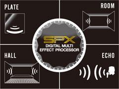 Yamaha Stagepas 400i - SPX digital reverb