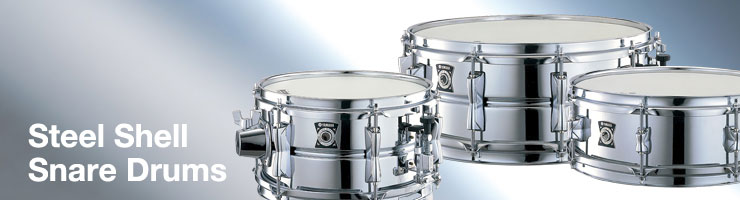 SteelShellSnareDrums